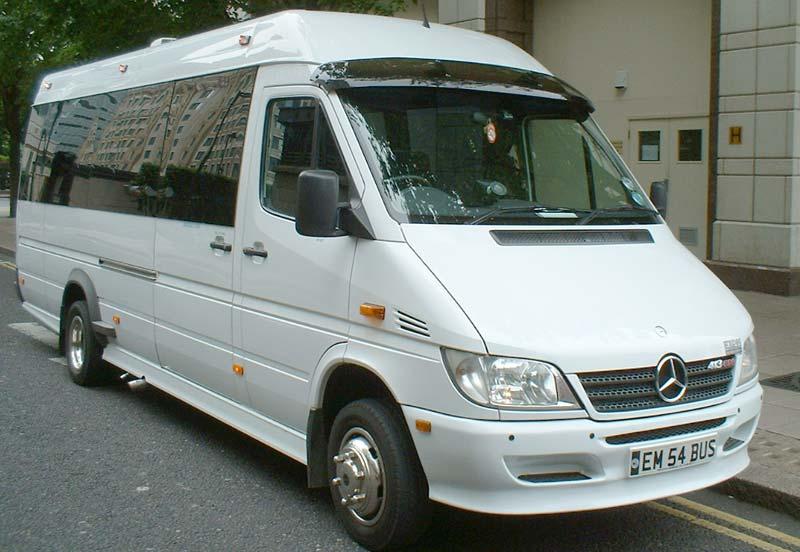 Executive Minibus Travel | Minibuses | Minibus and Driver | 12